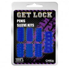 Набор насадок на пенис Penis Sleeve Kits Blue