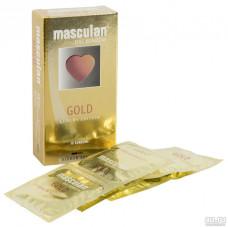 Презервативы Masculan тип 5 с ароматом ванили (золотого цвета, 10 шт.)
