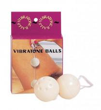 Вагинальные шарики Oriental Duotone Balls (слоновой кости)
