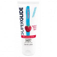 Superglide съедобная смазка для орального секса со вкусом малины 75 мл