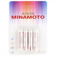 Батарейка щелочная MINAMOTO LR03 (AАА) 1.5В (4 шт)