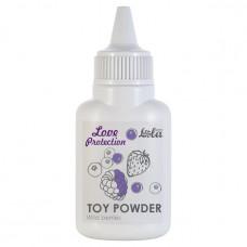 Пудра для игрушек ароматизированная Love Protection Лесные ягоды 15 гр