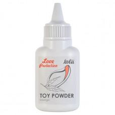 Пудра для игрушек ароматизированная Love Protection Манго 15 гр